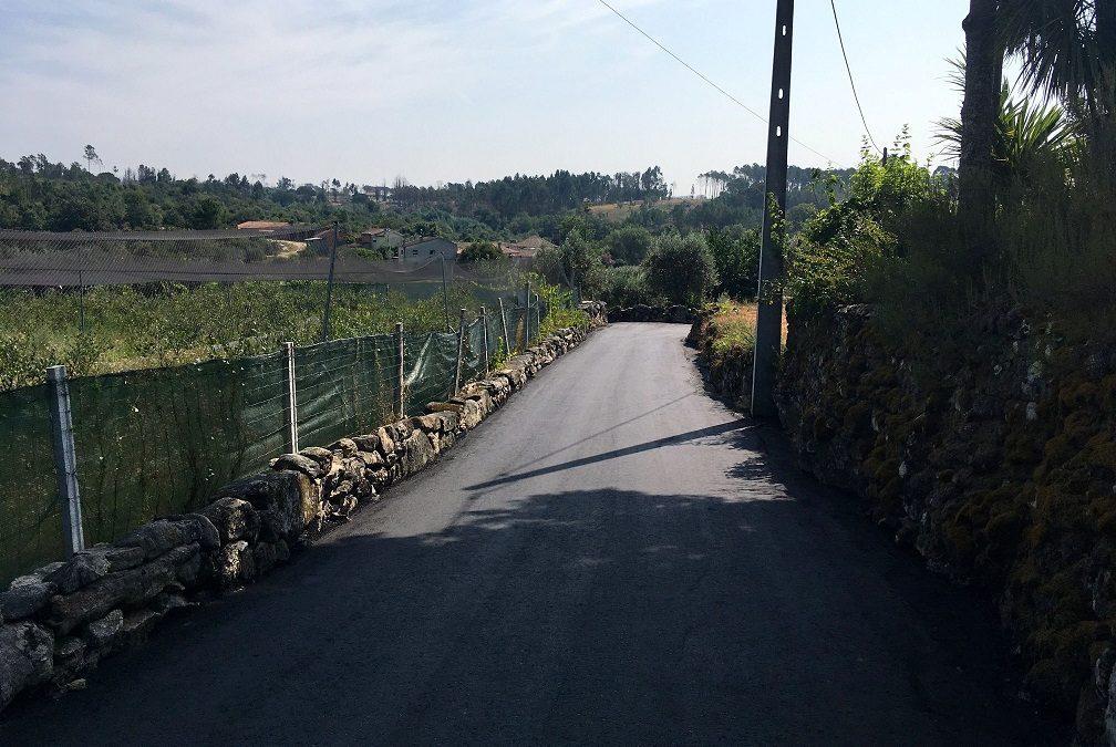 União de Freguesias Mangualde, Mesquitela e Cunha Alta, requalifica vias em várias aldeias da freguesia