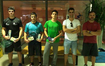 SQUASH – Cláudio Pinto vence 1ª Prova do Circuito Hotel Sra. do Castelo 2018/2019, o Torneio de Outubro 2018