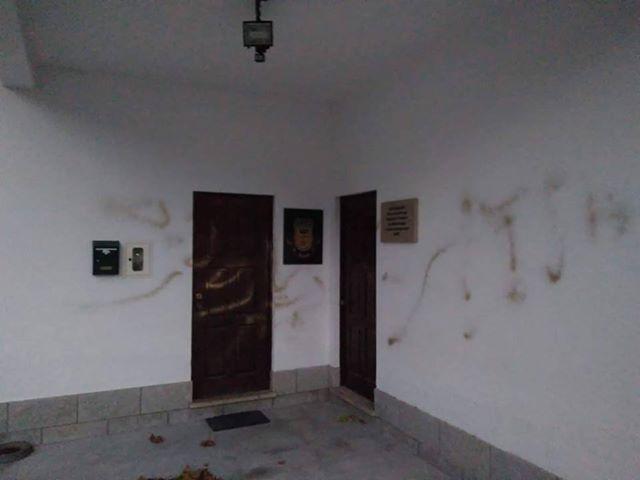 Vandalismo em Ançada