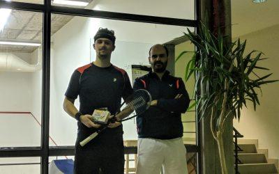 Squash – Cláudio Pinto vence Torneio