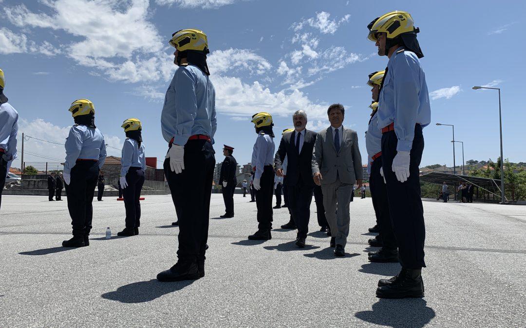 Bombeiros Voluntários de Mangualde celebraram o 90º aniversário
