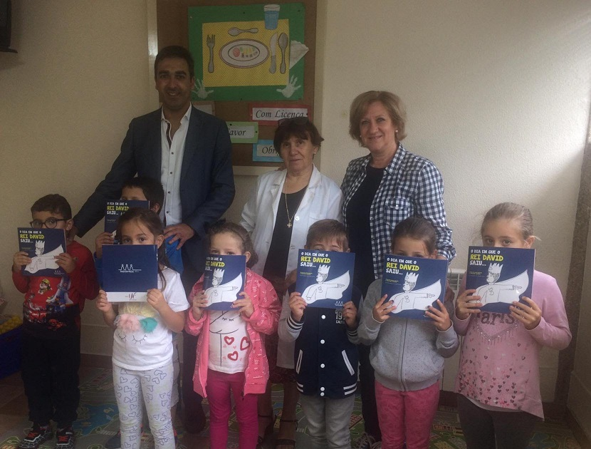 Junta de Freguesia de Mangualde, entrega livros às crianças que ingressam no 1º ano do 1º ciclo das escolas da freguesia
