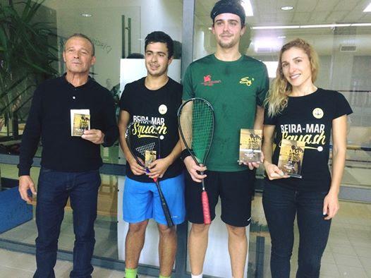 SQUASH – Manuela Nunes e Cláudio Pinto vencem Torneio de Outubro 2019 em Mangualde