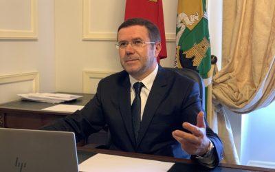 Elísio Oliveira, Presidente da Câmara Municipal de Mangualde em entrevista ao Jornal Notícias da Beira