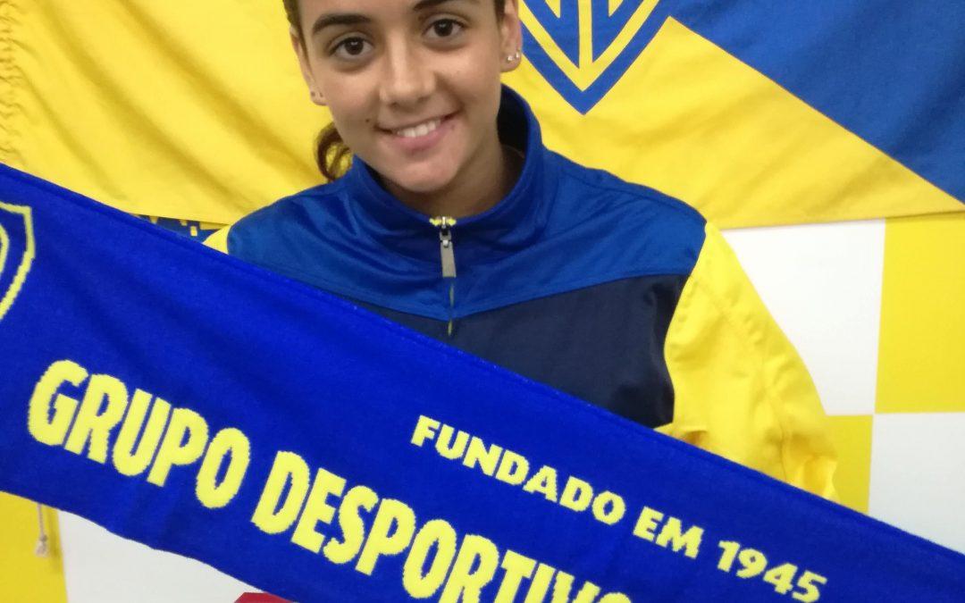 """Lara Pinheiro do Grupo Desportivo de Mangualde chamada à seleção nacional feminina de """"SUB16"""""""