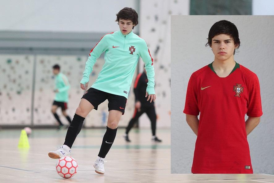 Mangualdense Fábio Neves convocado para a Seleção Nacional futsal Sub-19