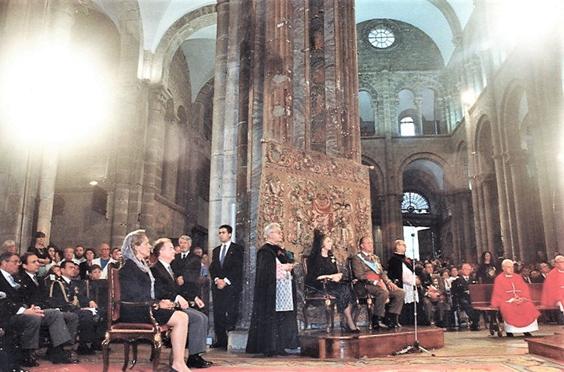 Viagens Presidenciais, Santiago de Compostela, Marrocos e o funeral do Rei Hassan II em pormenores mínimos