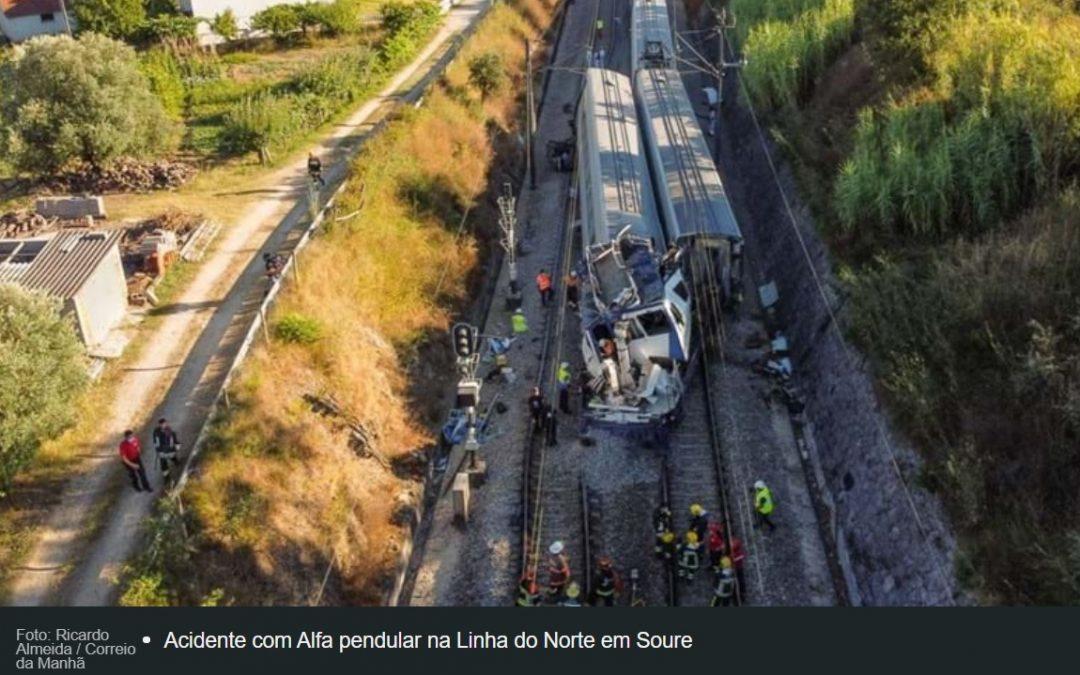 Vitima do acidente ferroviário de Soure vai a sepultar amanhã