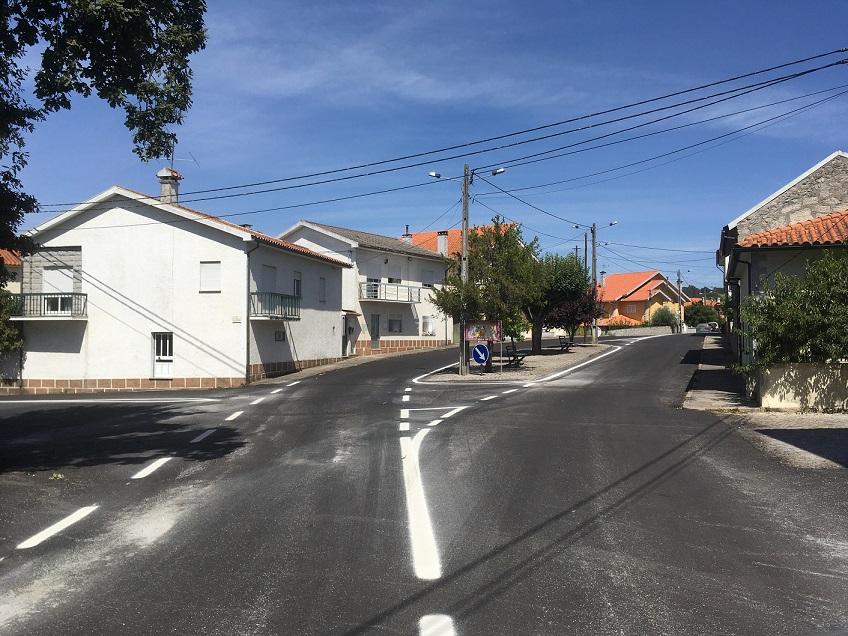 1ª fase da pavimentação de Cubos/Mangualde-Gare, concluida.
