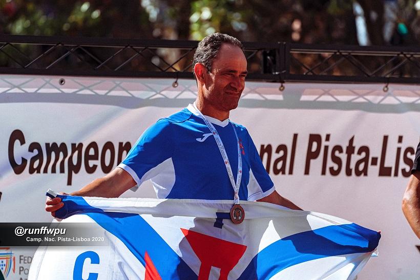 Vítor Salvador, é vice-campeão