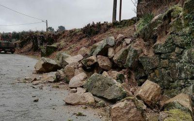 Mau Tempo faz estragos no concelho de Mangualde