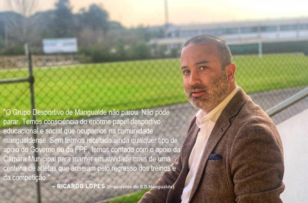 Entrevista: O futebol regional na visão do Presidente do Grupo Desportivo de Mangualde