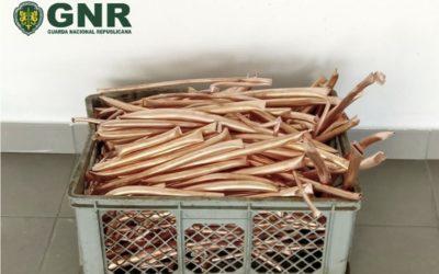 Mangualde – Apanhado com 22kg de cobre roubado