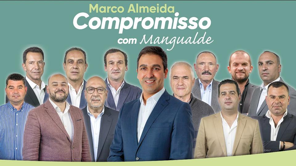 Marco Almeida apresenta os candidatos às Freguesias da candidatura Compromisso com Mangualde
