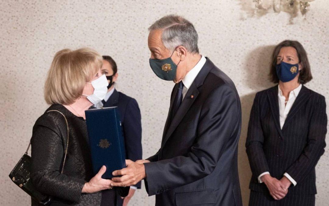 Presidente da República condecora Mangualdense Jorge Coelho a título póstumo