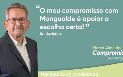 Rui Ardérius é o mandatário da candidatura de Marco Almeida