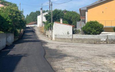 Mangualde – 30 anos depois Bairro da Portela (Mesquitela) alcatroado
