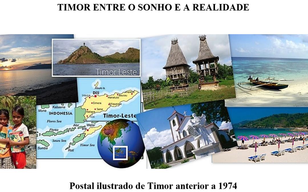 TIMOR ENTRE O SONHO E A REALIDADE – artigo de José Luiz Costa Sousa