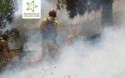 Grupo de Reforço para Incêndios Florestais (GRIF) Nº1 de Lisboa está em Mangualde