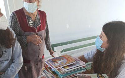Biblioteca ambulante na União das Freguesias de Mangualde, Mesquitela e Cunha Alta