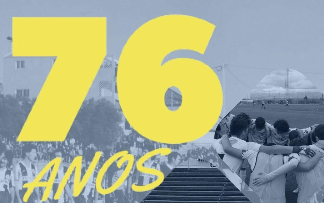 Grupo Desportivo de Mangualde celebra 76.º aniversário